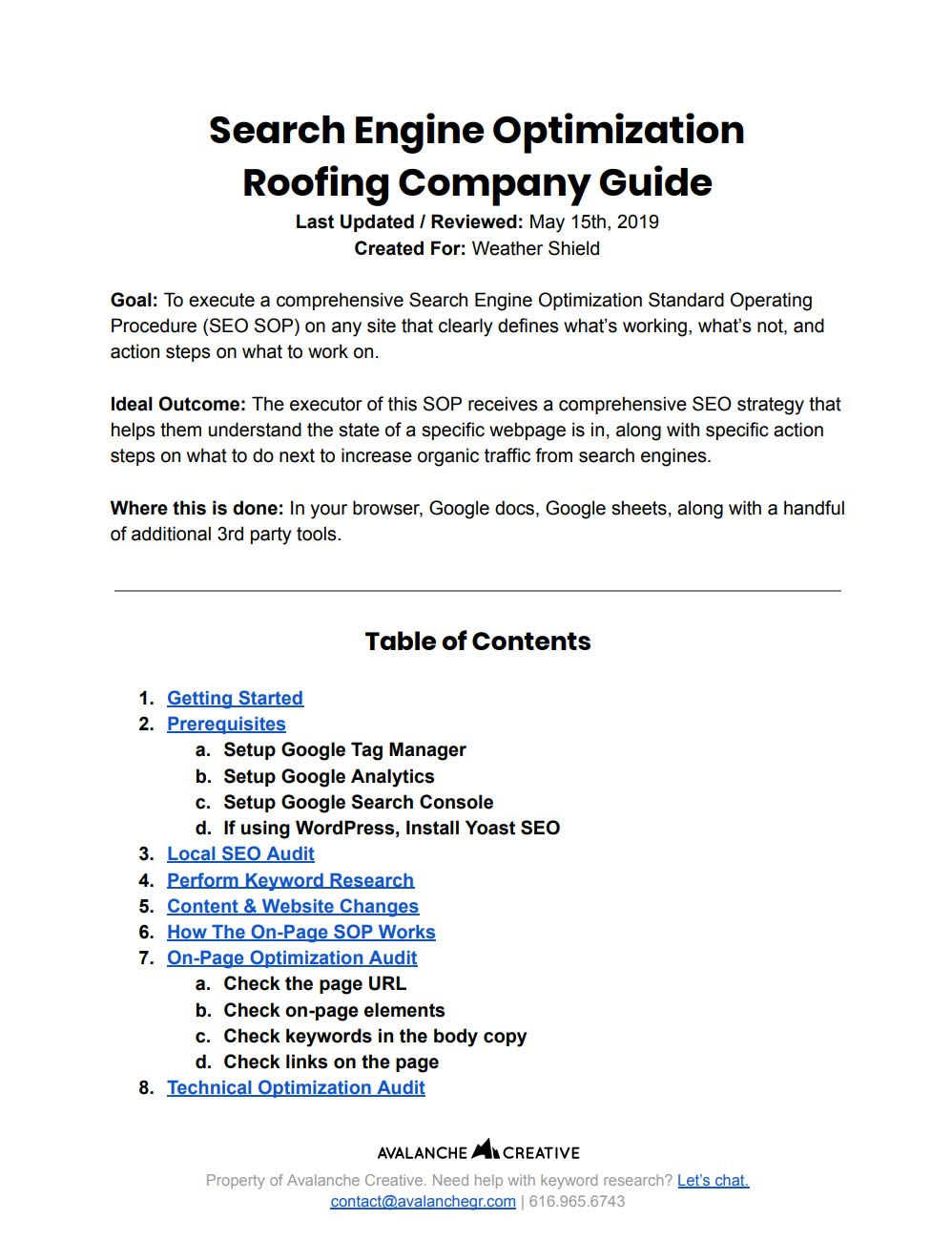roofing company seo guide