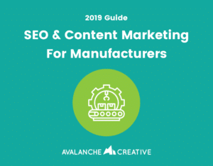 manufacturing seo guide