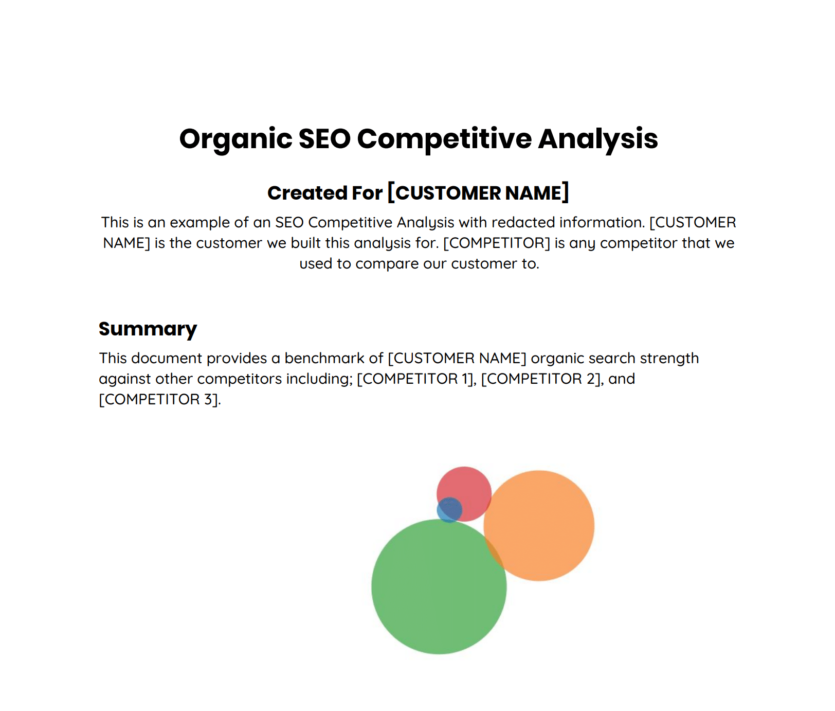 competitive analysis seo keywords