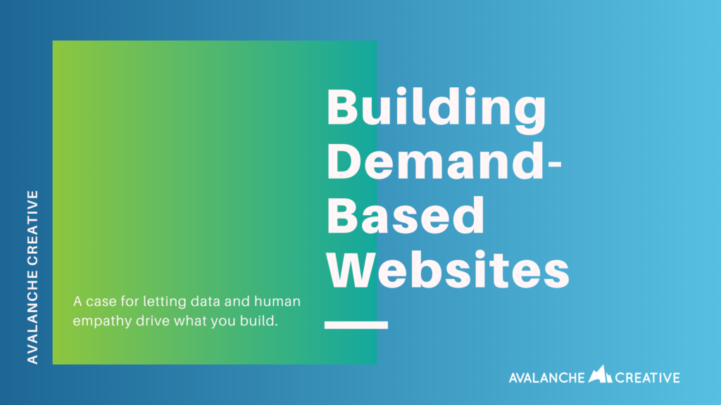 demand based websites
