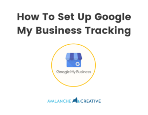 how to set up google my business tracking