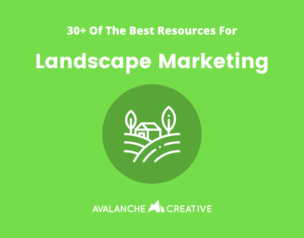 landscape marketing resources