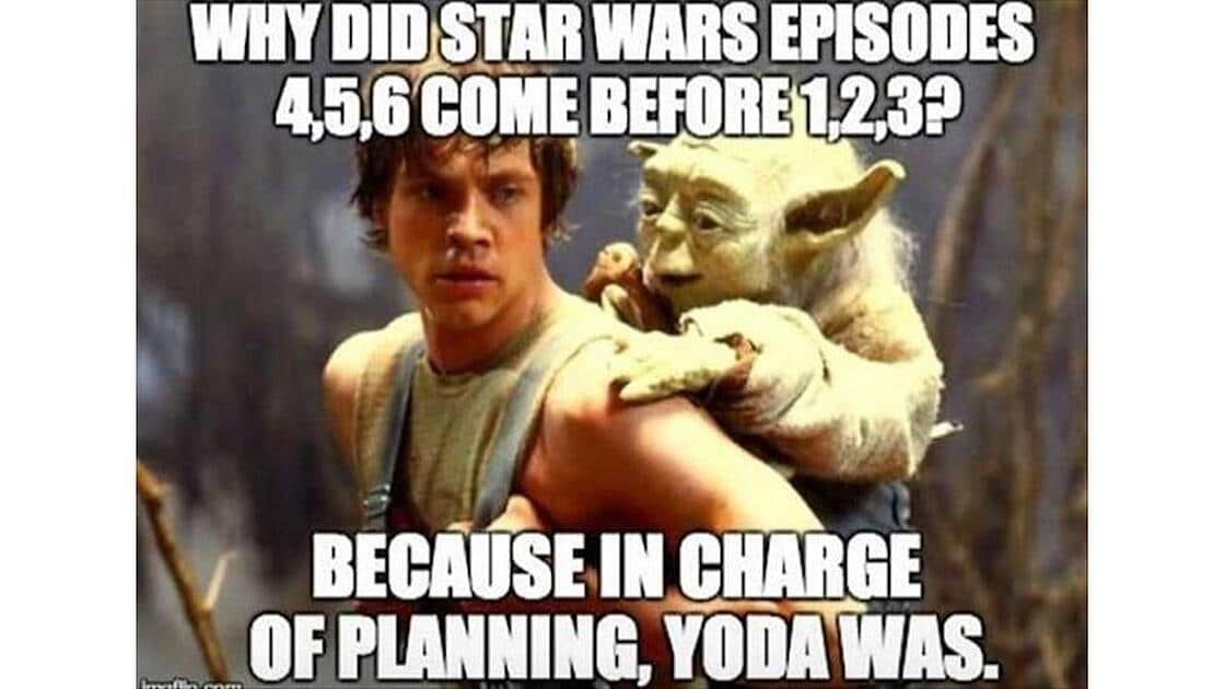 star wars joke meme