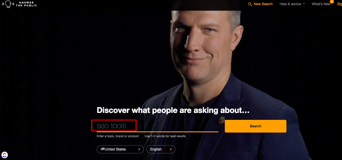 ask the public homepage